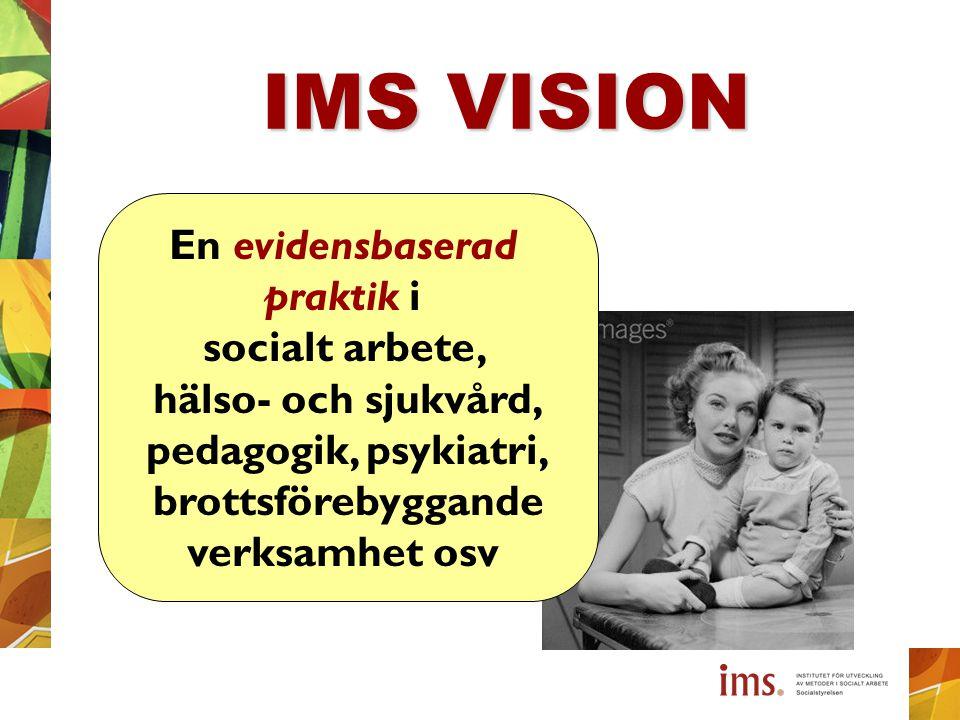 IMS VISION En evidensbaserad praktik i socialt arbete,