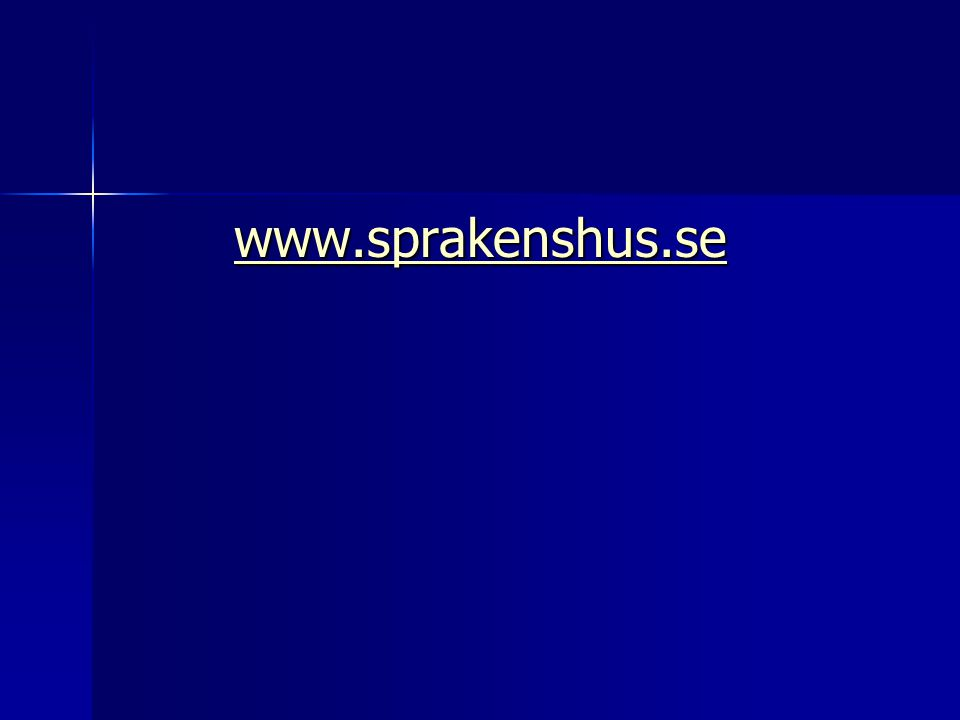 www.sprakenshus.se Eva-Kristina Salameh Logkurs 5p.