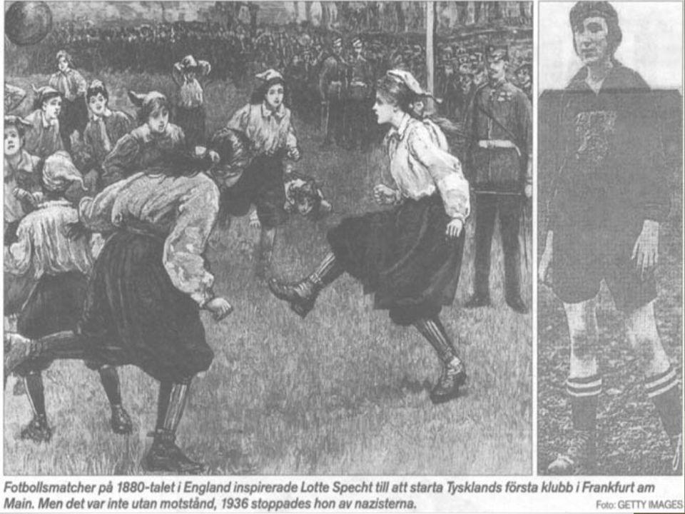 Kvinnor var i början av 1900-talet osynliga inom idrottsrörelsen