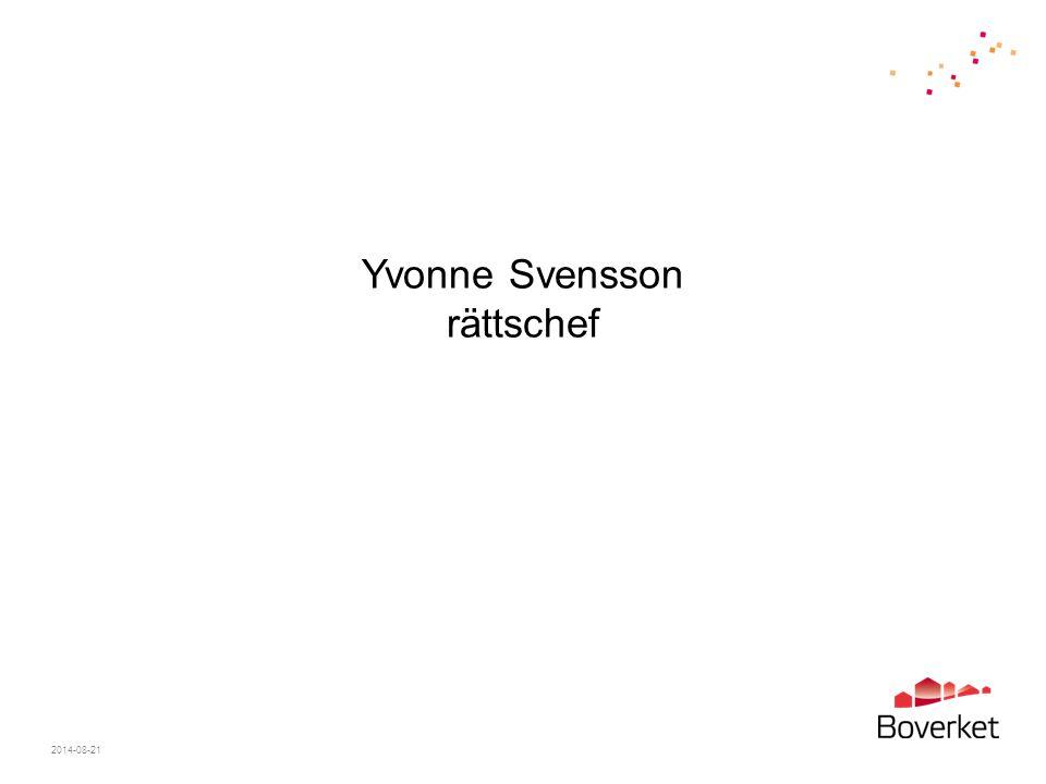 Yvonne Svensson rättschef
