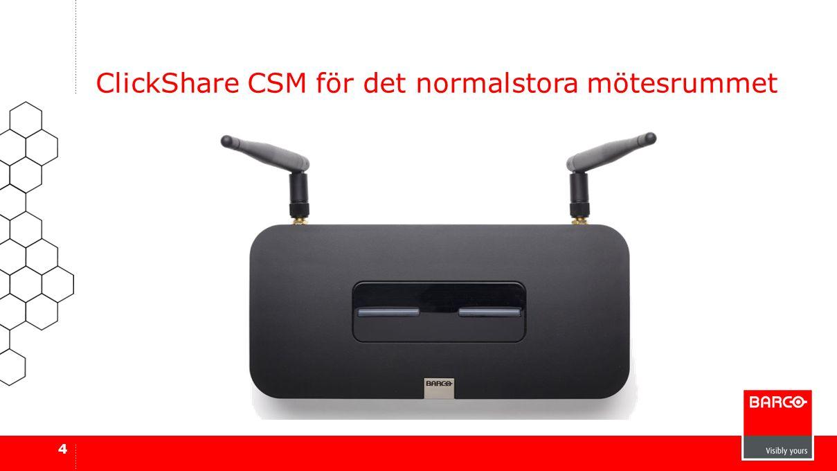 ClickShare CSM för det normalstora mötesrummet