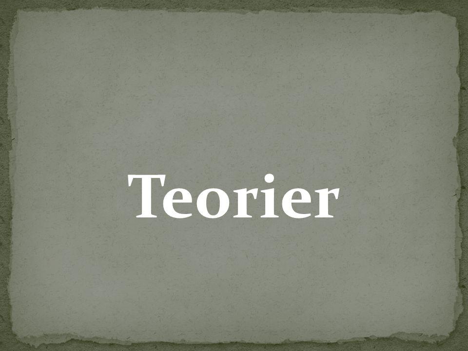 Teorier