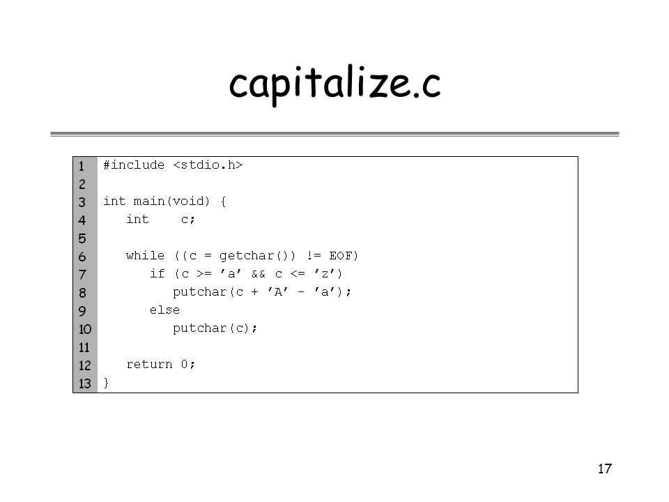 capitalize.c