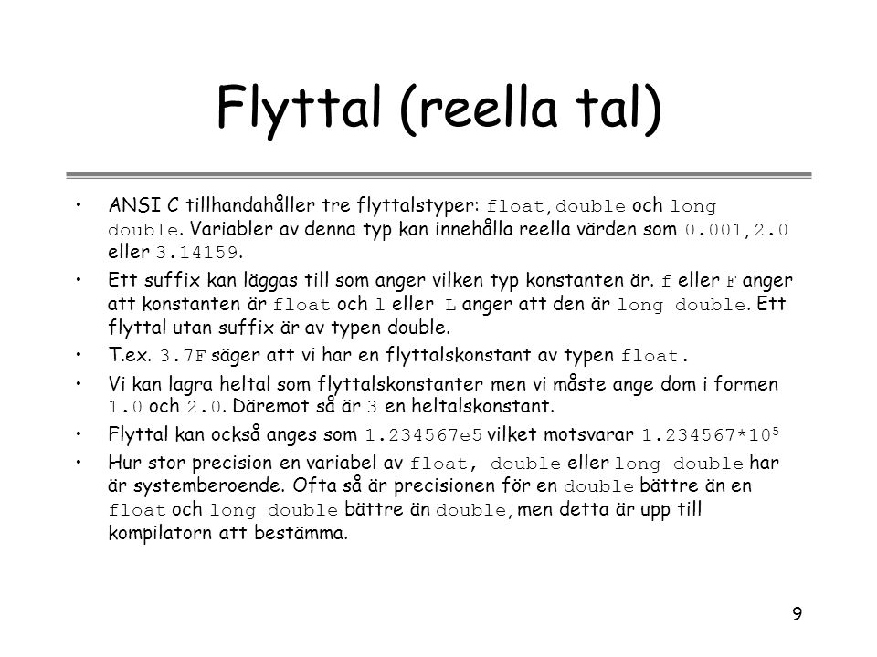 Flyttal (reella tal)