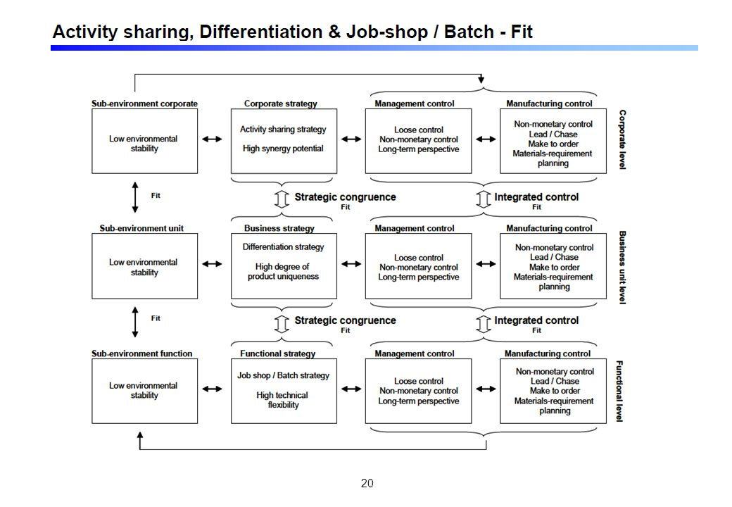 Koppling - omgivning, strategisk inriktning & ekonomistyrning