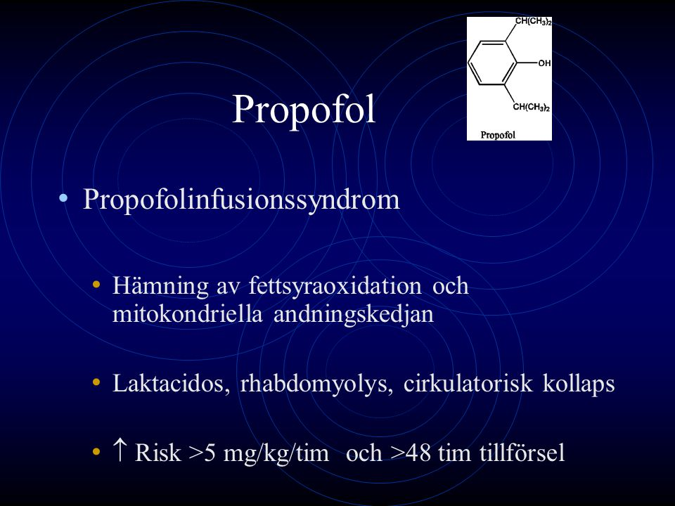 Propofol Propofolinfusionssyndrom