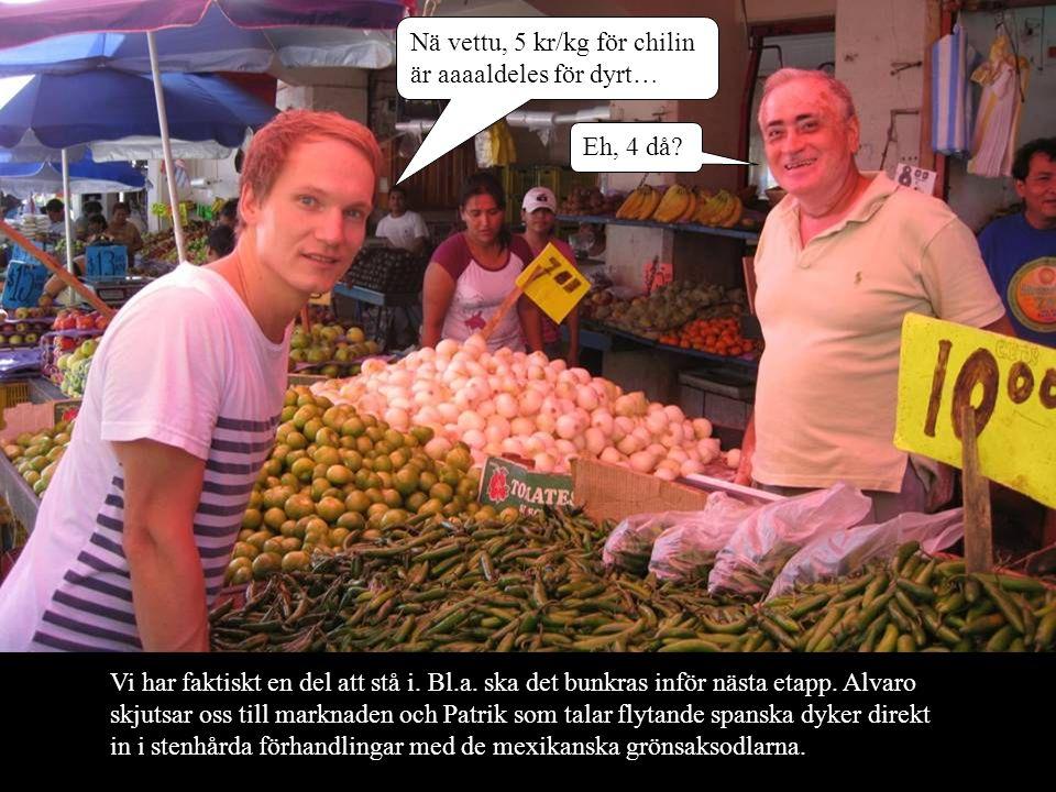 Nä vettu, 5 kr/kg för chilin är aaaaldeles för dyrt…