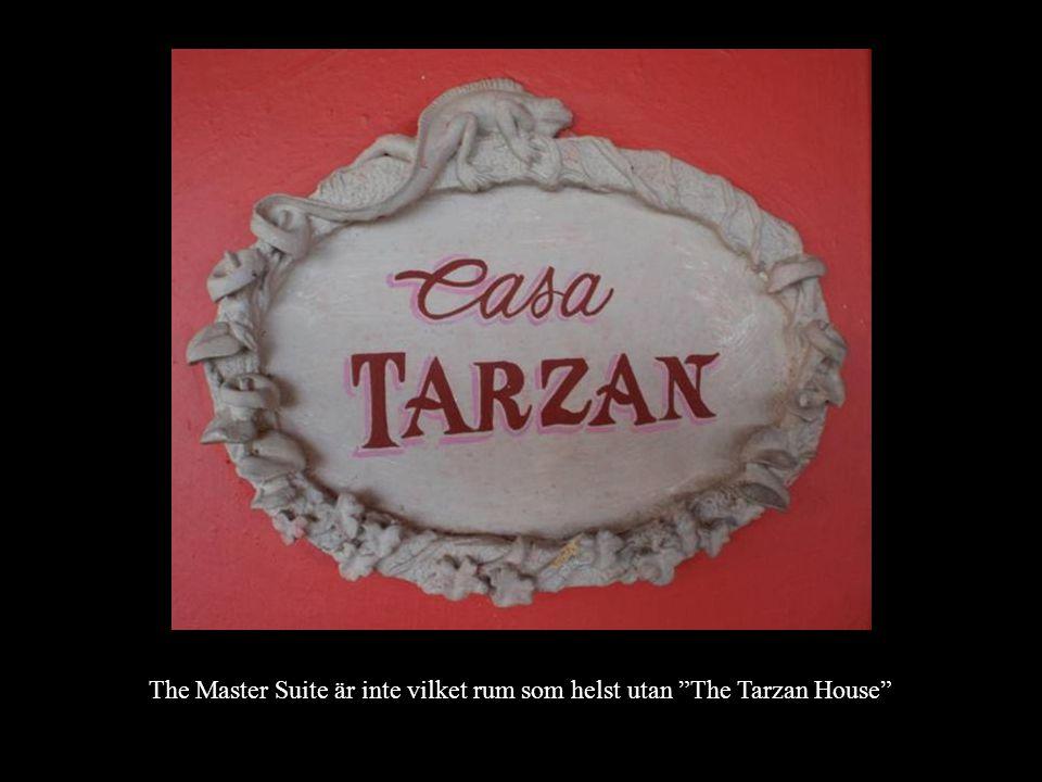 The Master Suite är inte vilket rum som helst utan The Tarzan House