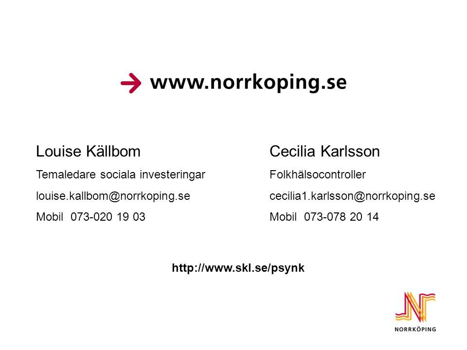 Louise Källbom Cecilia Karlsson