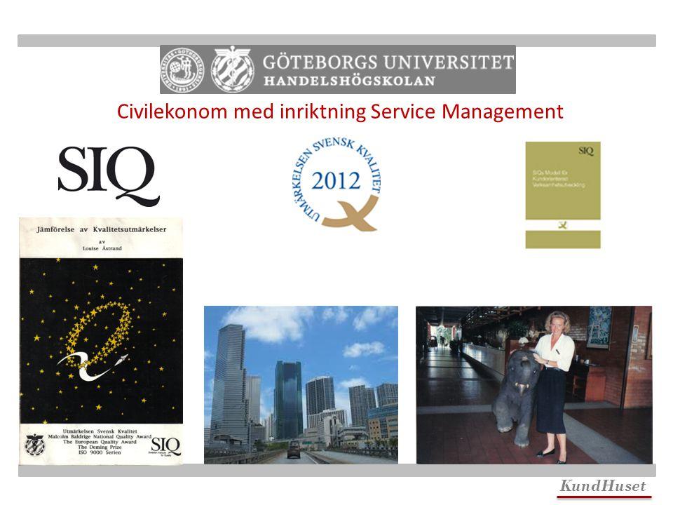 Civilekonom med inriktning Service Management