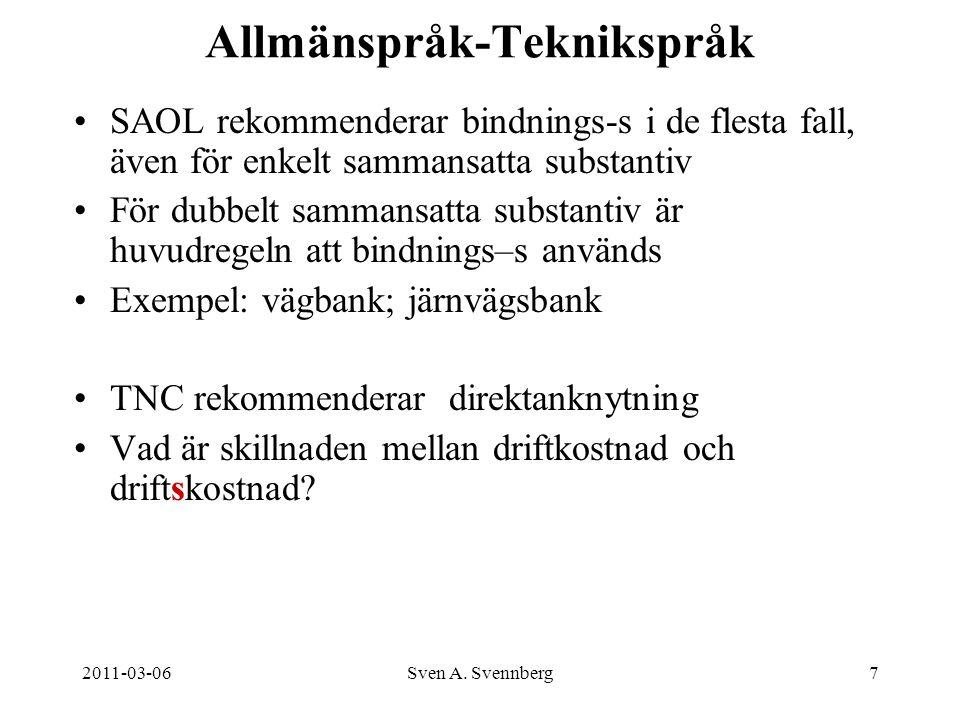 Allmänspråk-Teknikspråk