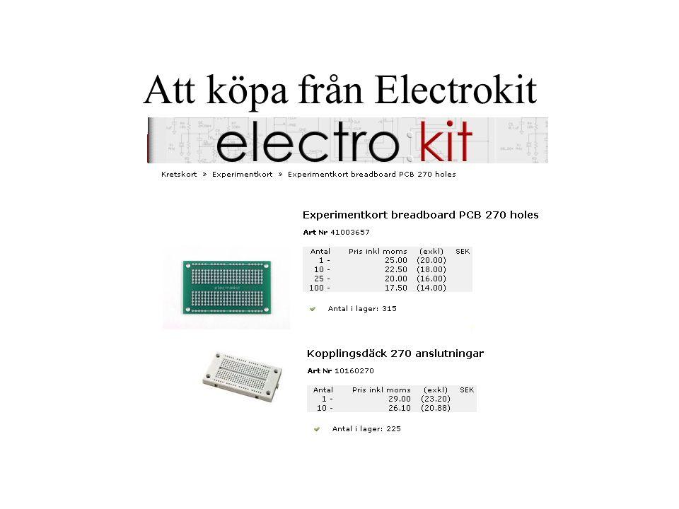 Att köpa från Electrokit