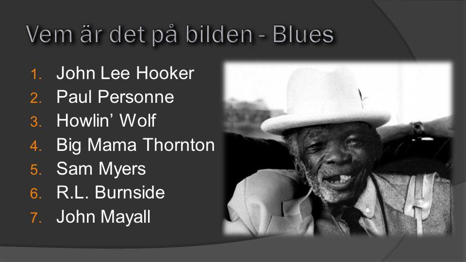Vem är det på bilden - Blues