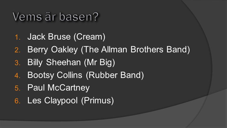 Vems är basen Jack Bruse (Cream)