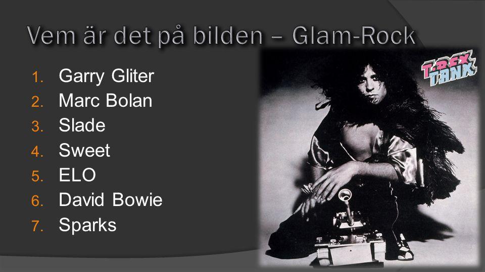 Vem är det på bilden – Glam-Rock