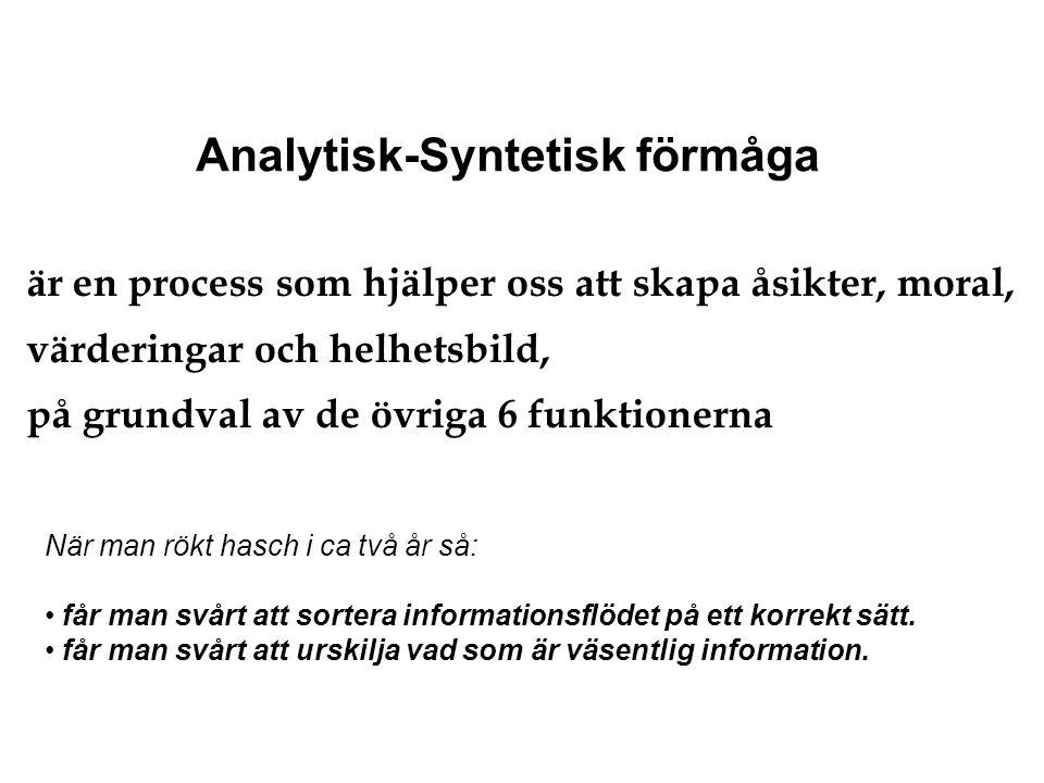 Analytisk-Syntetisk förmåga
