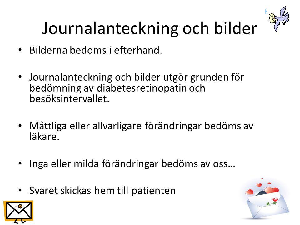 Journalanteckning och bilder