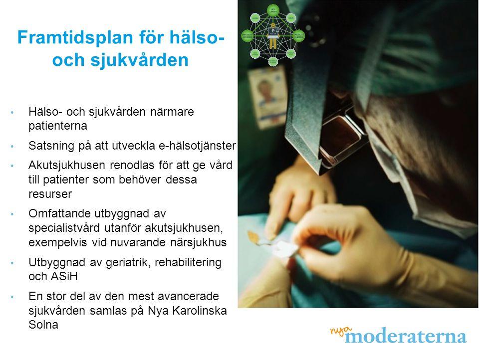 Framtidsplan för hälso- och sjukvården