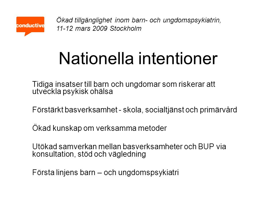 Nationella intentioner