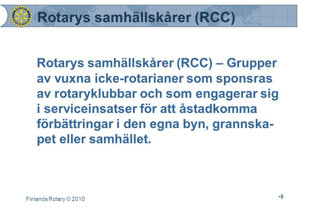 Rotarys samhällskårer (RCC)