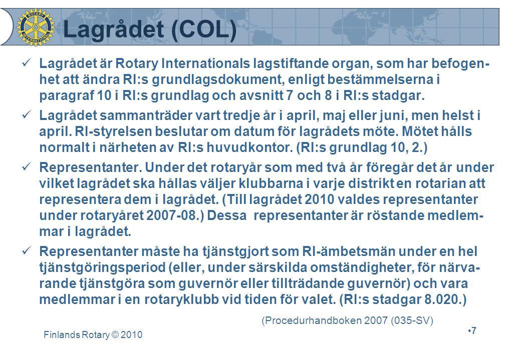 Lagrådet (COL)
