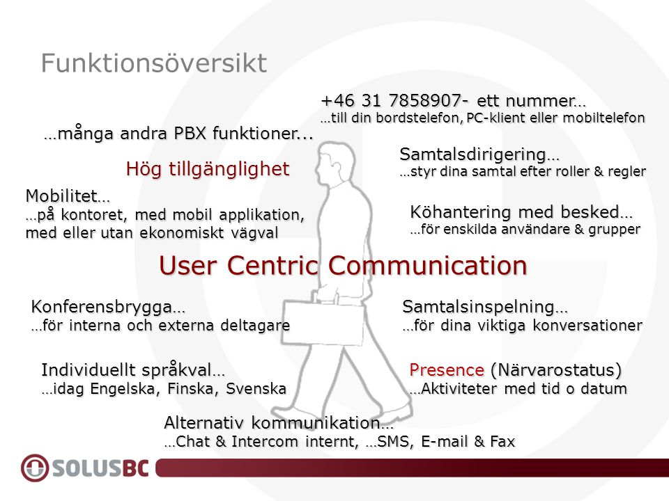 User Centric Communication
