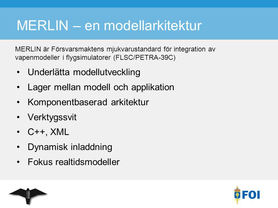 MERLIN – en modellarkitektur