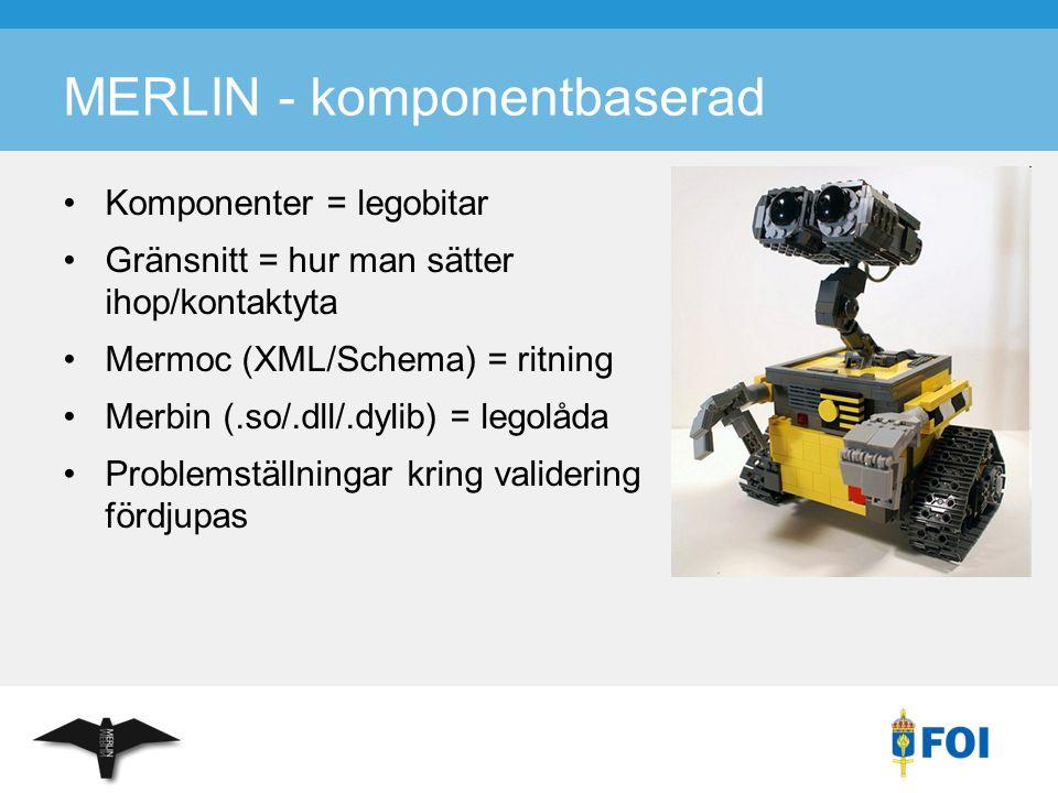 MERLIN - komponentbaserad