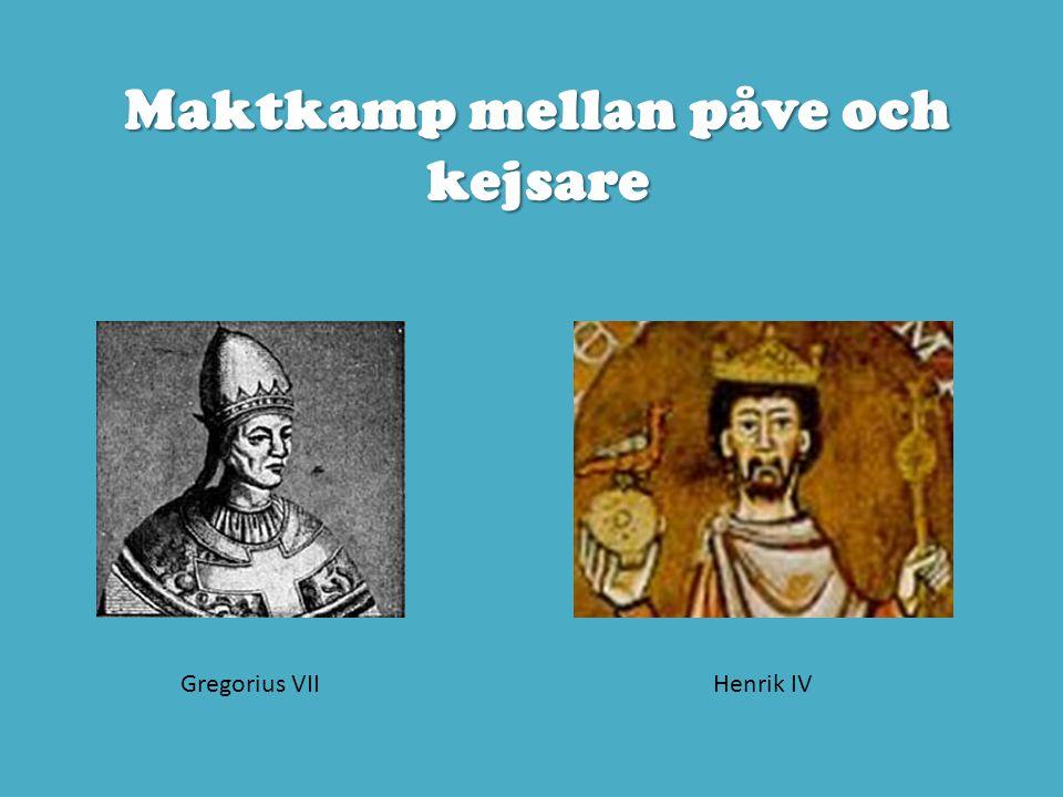 Maktkamp mellan påve och kejsare