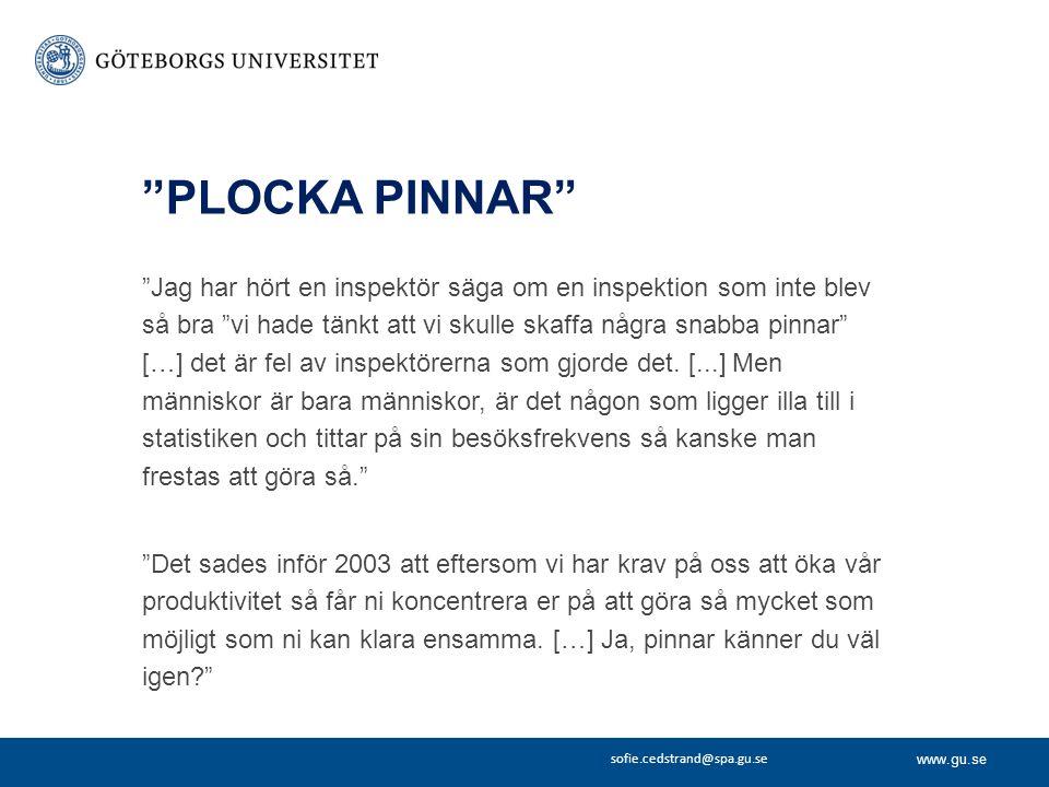 PLOCKA PINNAR