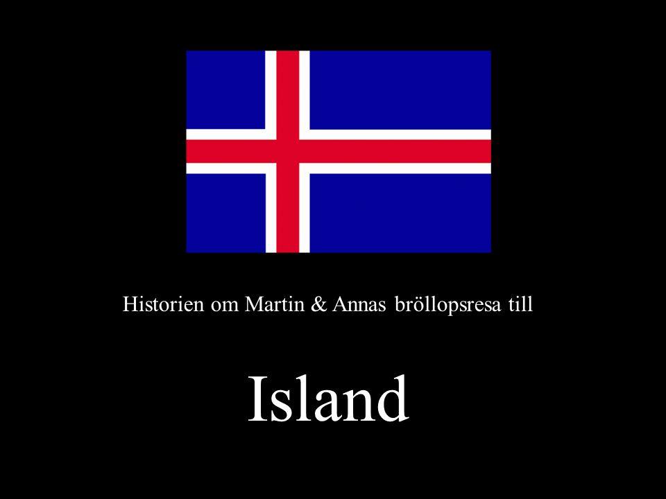 Historien om Martin & Annas bröllopsresa till