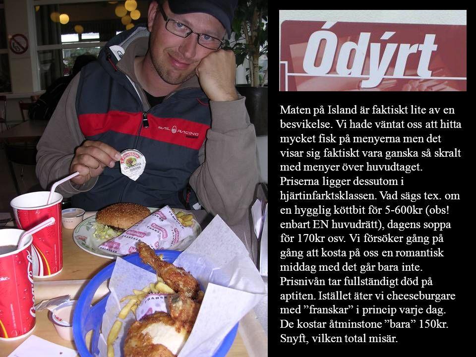 Maten på Island är faktiskt lite av en besvikelse