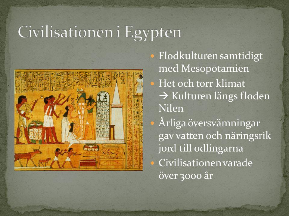 Civilisationen i Egypten