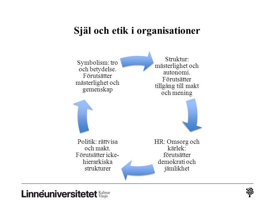 Själ och etik i organisationer