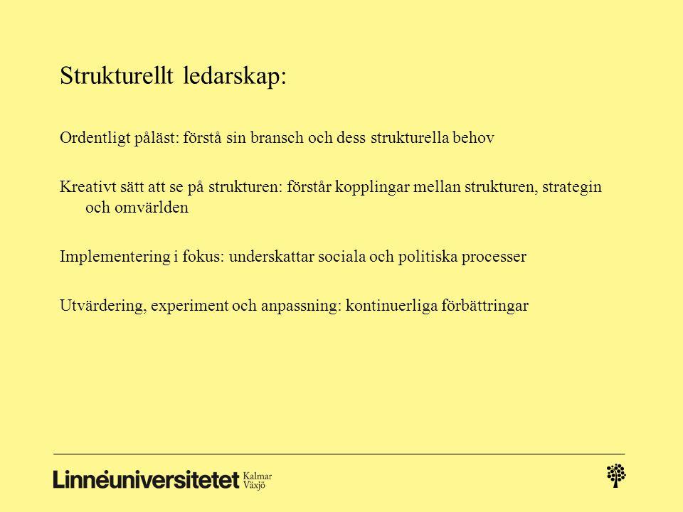 Strukturellt ledarskap: