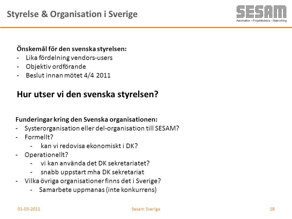 Styrelse & Organisation i Sverige