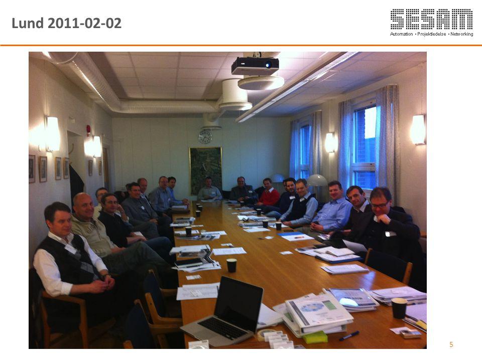Lund 2011-02-02 01-03-2011 Sesam Sverige