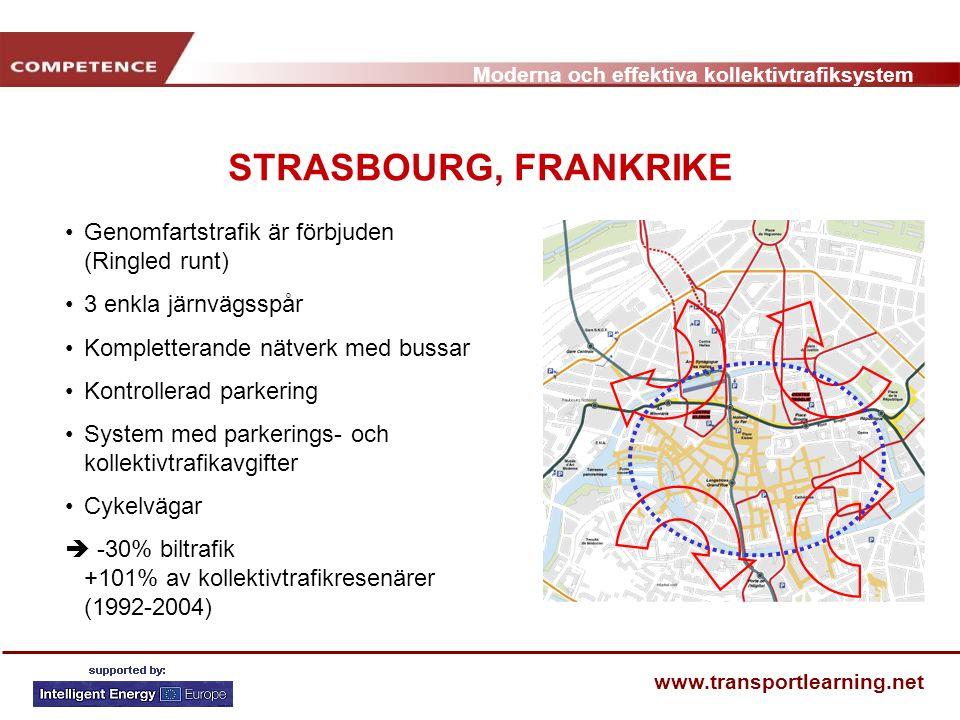 STRASBOURG, FRANKRIKE Genomfartstrafik är förbjuden (Ringled runt)