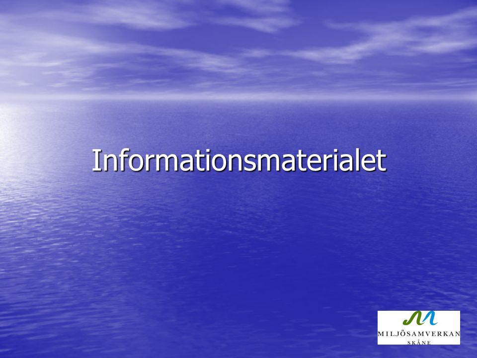 Informationsmaterialet