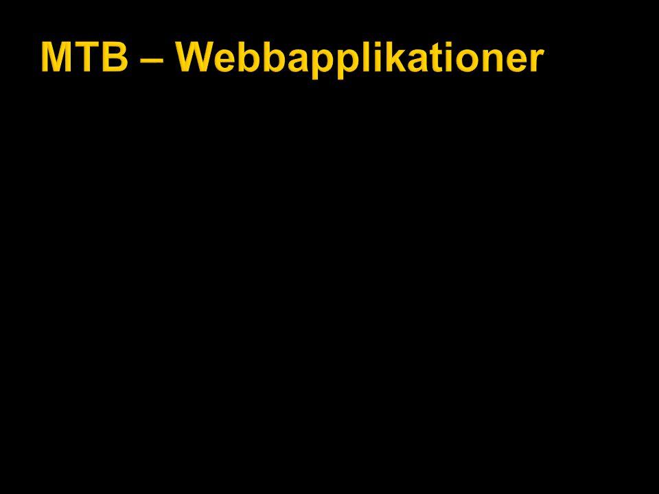 MTB – Webbapplikationer