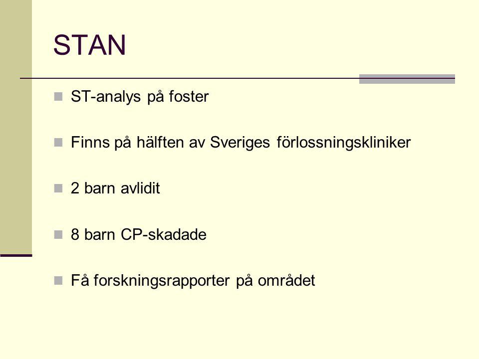 STAN ST-analys på foster