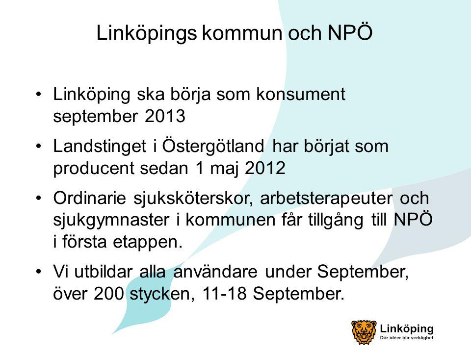 Linköpings kommun och NPÖ