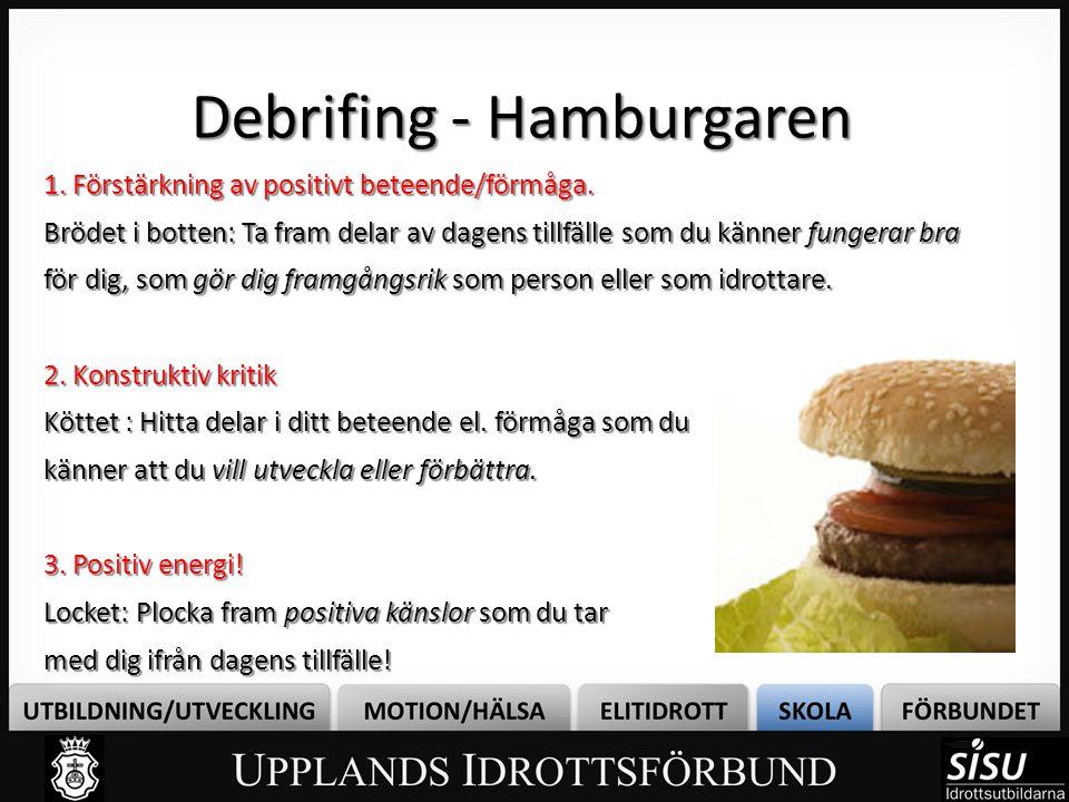 Debrifing - Hamburgaren