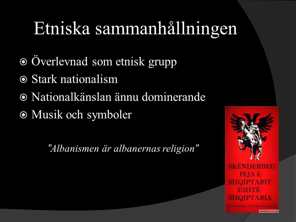 Etniska sammanhållningen