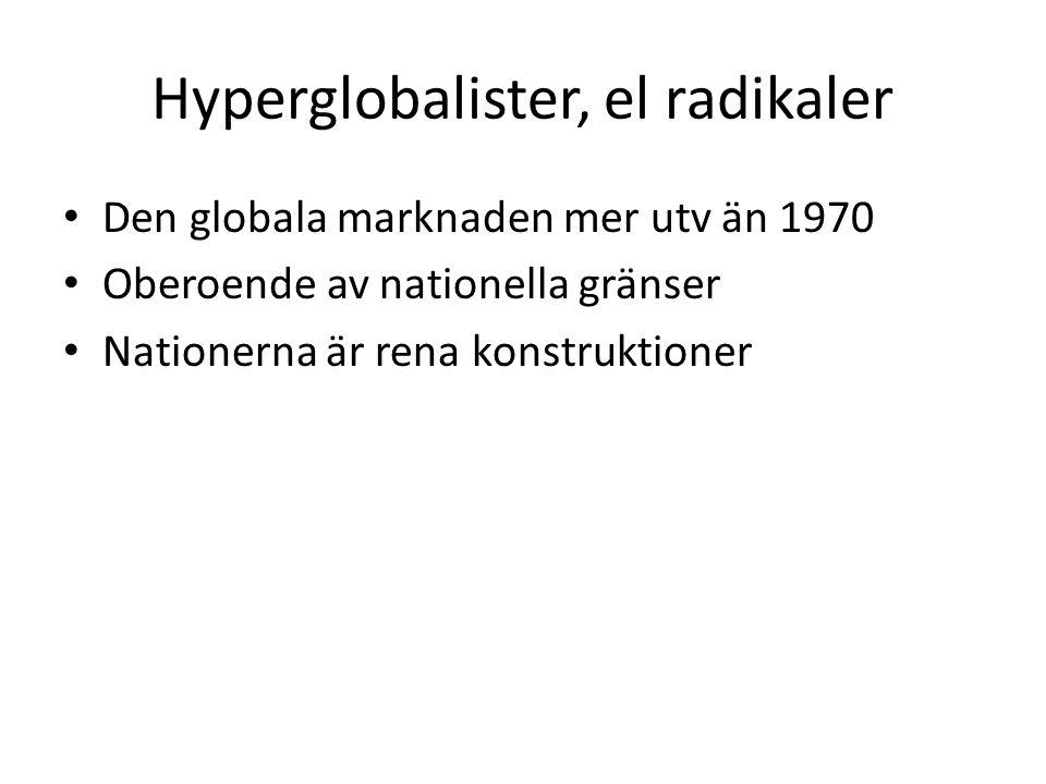 Hyperglobalister, el radikaler