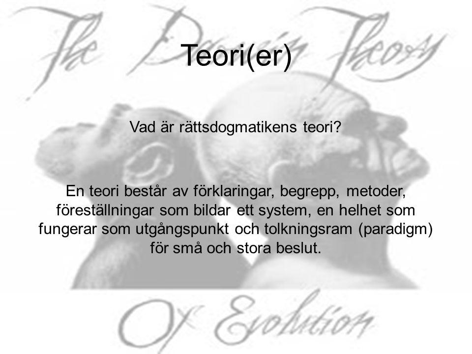 Teori(er)