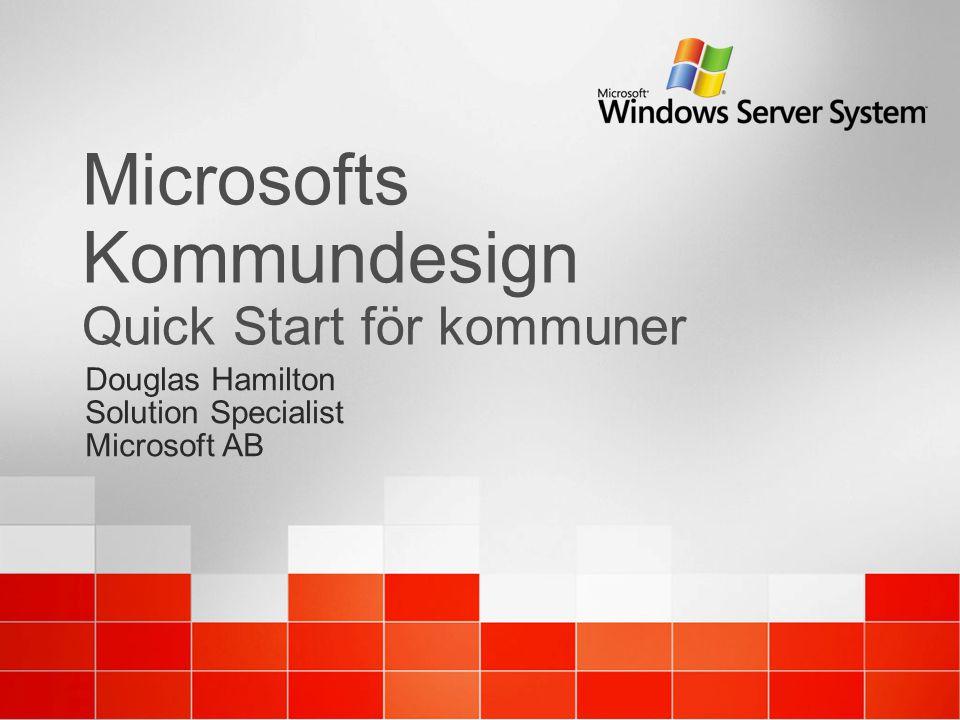 Microsofts Kommundesign Quick Start för kommuner