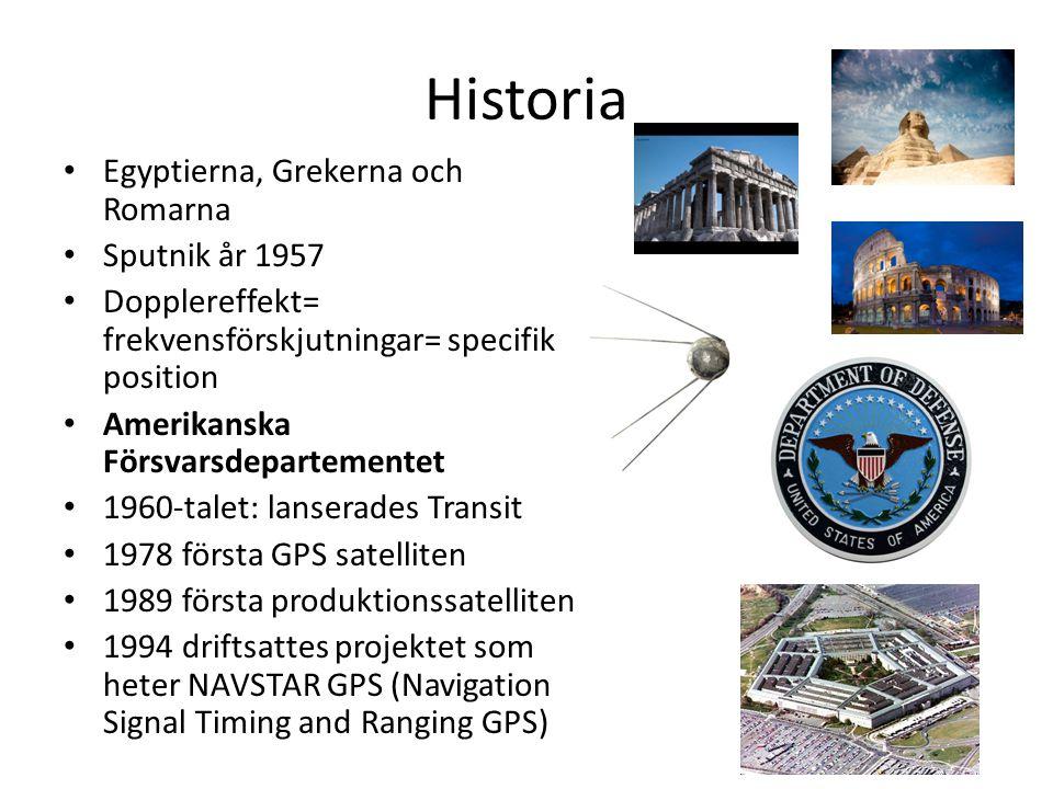 Historia Egyptierna, Grekerna och Romarna Sputnik år 1957