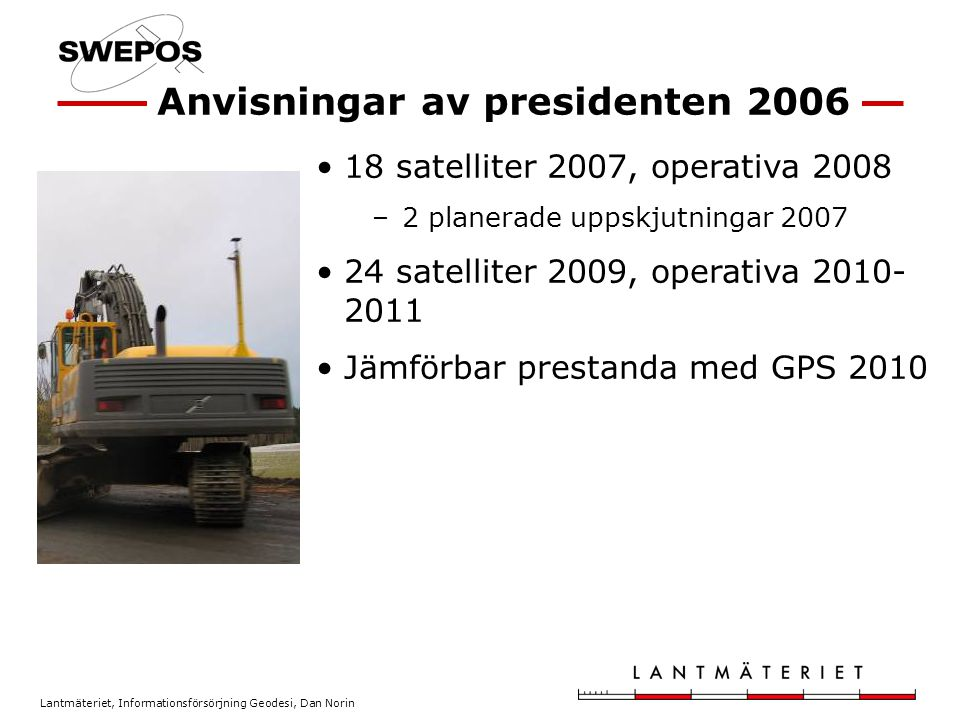 Anvisningar av presidenten 2006