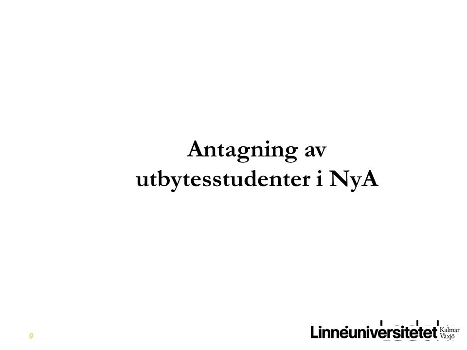 utbytesstudenter i NyA